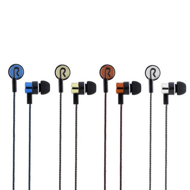 Спорт Бег шумоизоляция стерео 1,1 м в ухо 3,5 мм медиаплеер музыкальные стереонаушники 5 цветов дополнительно