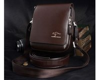 New Arrival Fashion Genuine Leather Men Shoulder Bag High Quality Brand New Authentic Kangaroo Bags Men