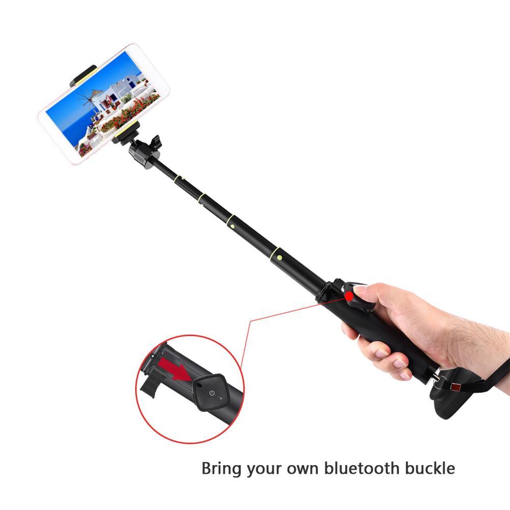 Bluetooth Remote Controller Foldable Hand held Tripod Selfie Stick Monopod Selfiestick Bluetooth With Wireless Shutter Camera Ac