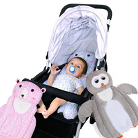 Hot Selling Baby Bed Mattress Adorable Owl Bear Cartoon Style Sleep Positioner Body Support for Infant Crib Stroller