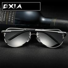 50bc77c03c Óculos de sol Lentes Polarizadas para HOMENS Top Qualidade Frame Da Liga de  Alumínio E Magnésio EXIA ÓPTICO KD-0761 Series