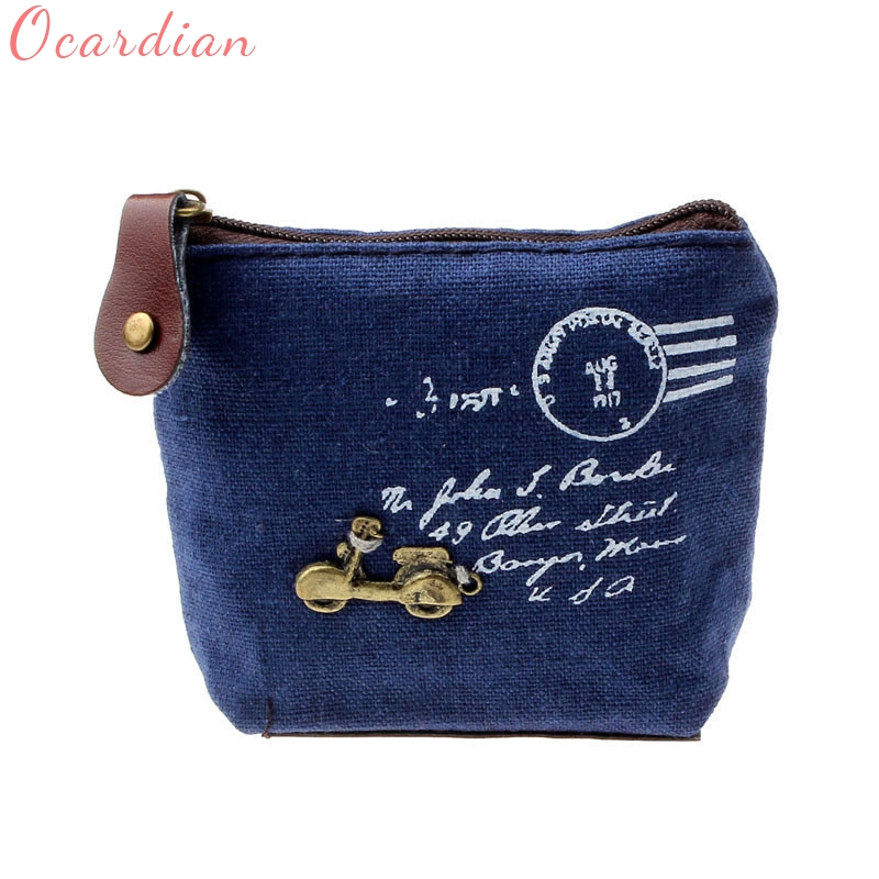 OCARDIAN Vintage Women Lady Girl Retro Coin Bag Purse Wallet Card Case Handbag Hot Saleing Purse Vendimia Monedero Drop Shipping