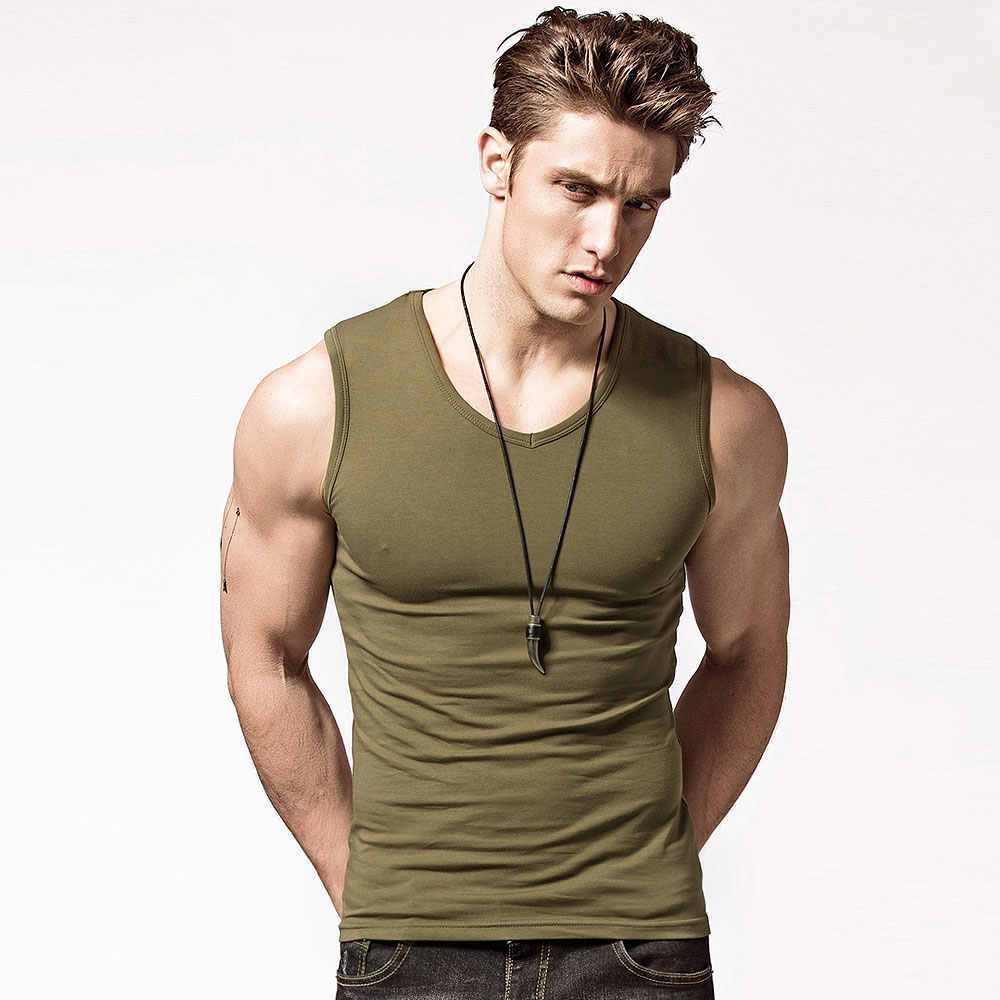 96ee98a4a2 ... 2019 Men's Tank Tops, Fashion summer style Sleeveless Undershirts, Male  Bodybuilding Tank Top, ...