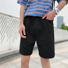 2019 New Casual Men's Shorts  Men's Sports Men's Casual Shorts 100%Cotton Shorts M-5XL цена в Москве и Питере