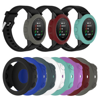Silicone Protective Case Cover For Garmin Fenix 5 Individual Wristband Bracelet Protector For Gamin Fenix 5 Smart Fitness Watch image