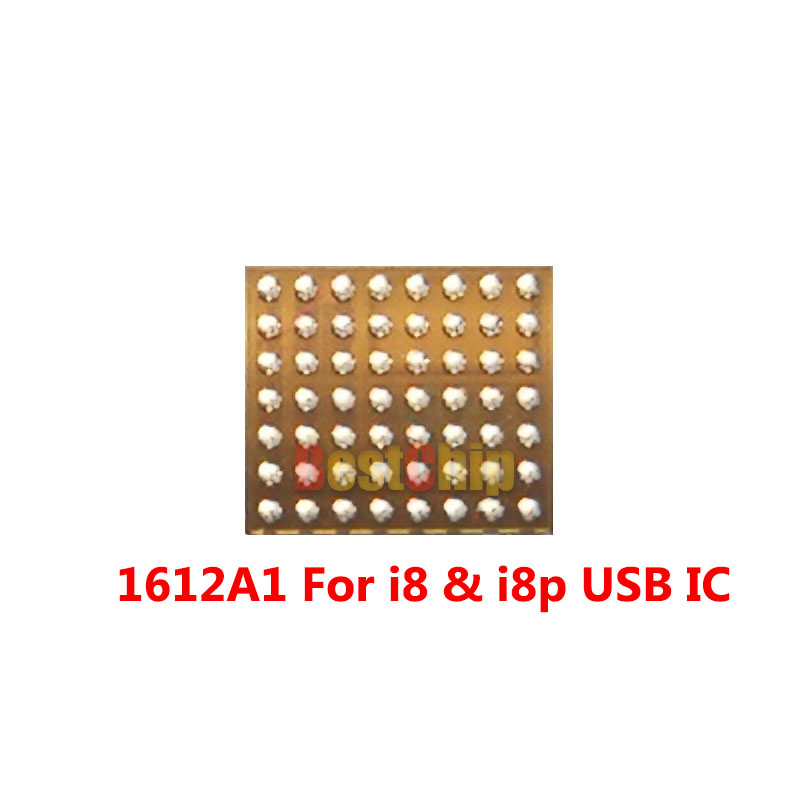 10pcs lot New 1612A1 56pins For iphone 8 8 plus X Charger Charging U2 USB IC