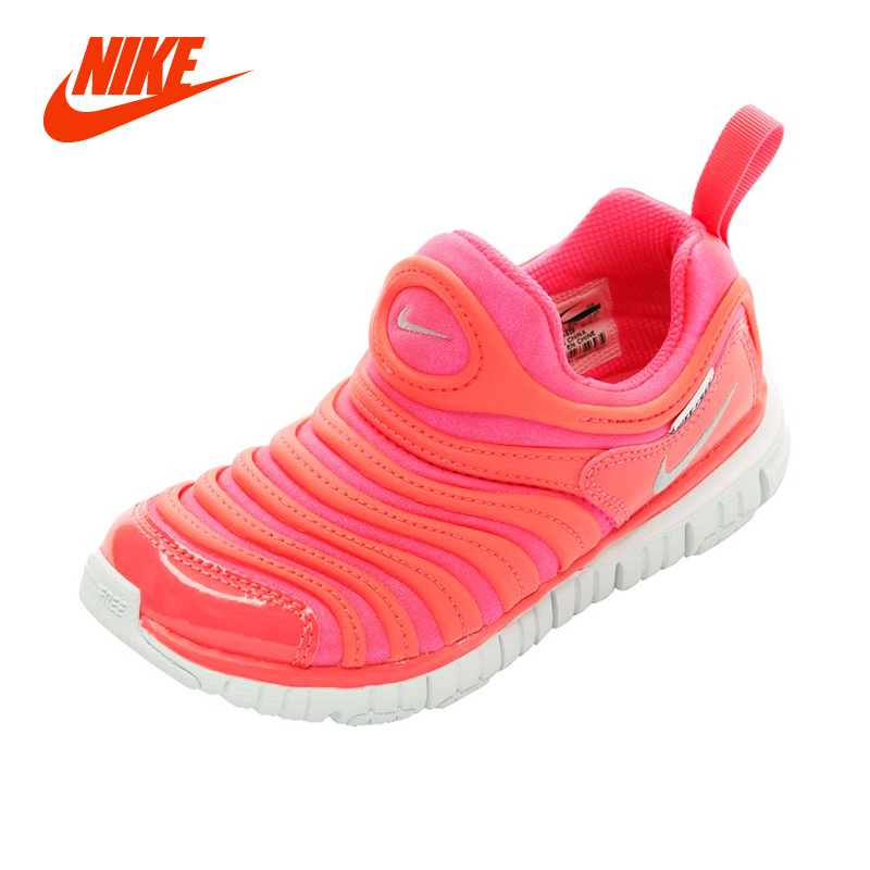 cf0f323a8a9 Original NIKE DYNAMO FREE Caterpillar Baby Kid Sneakers Boy Lightweight  Breathable Running Shoes Girl Children Sport Casual Shoe-in Sneakers from  Mother ...
