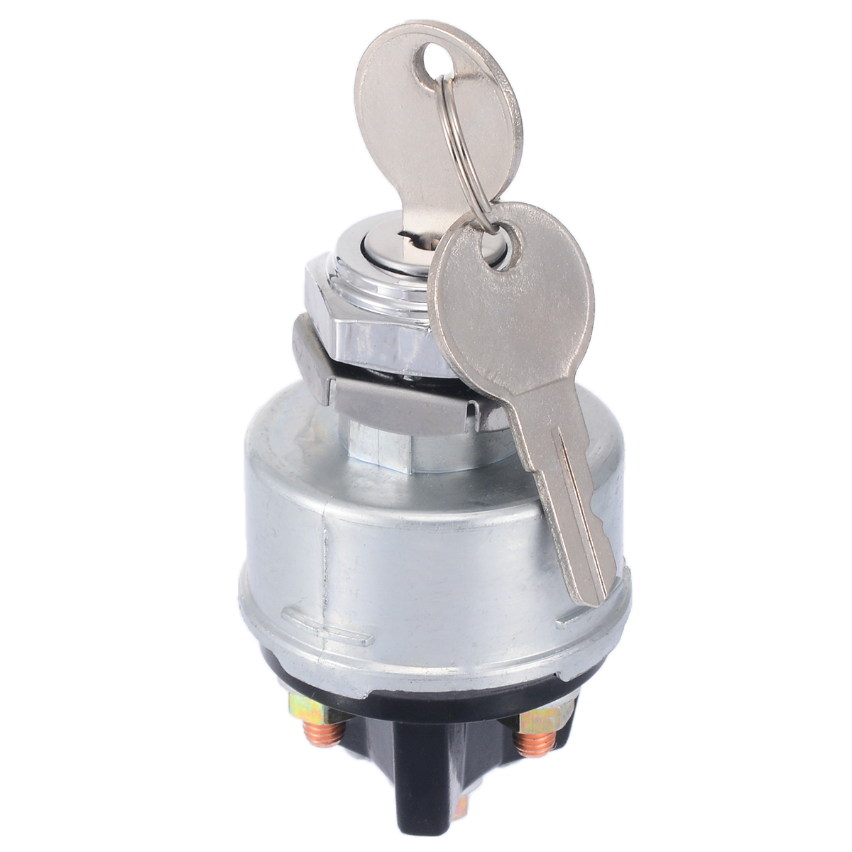 UNIVERSAL PETROL IGNITION STARTER SWITCH 4 POSITION TRACTOR