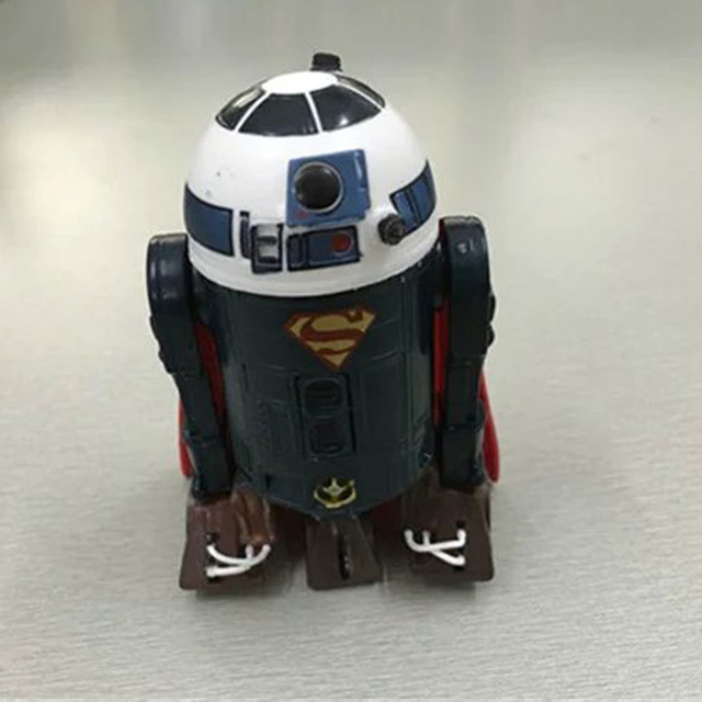 Wonderful Star Wars Robot R2d2 R2 D2 Cosplay Superman Pvc Action