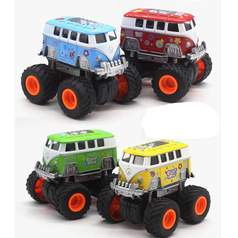 Children's Toy Alloy Four wheel drive Inertial off road