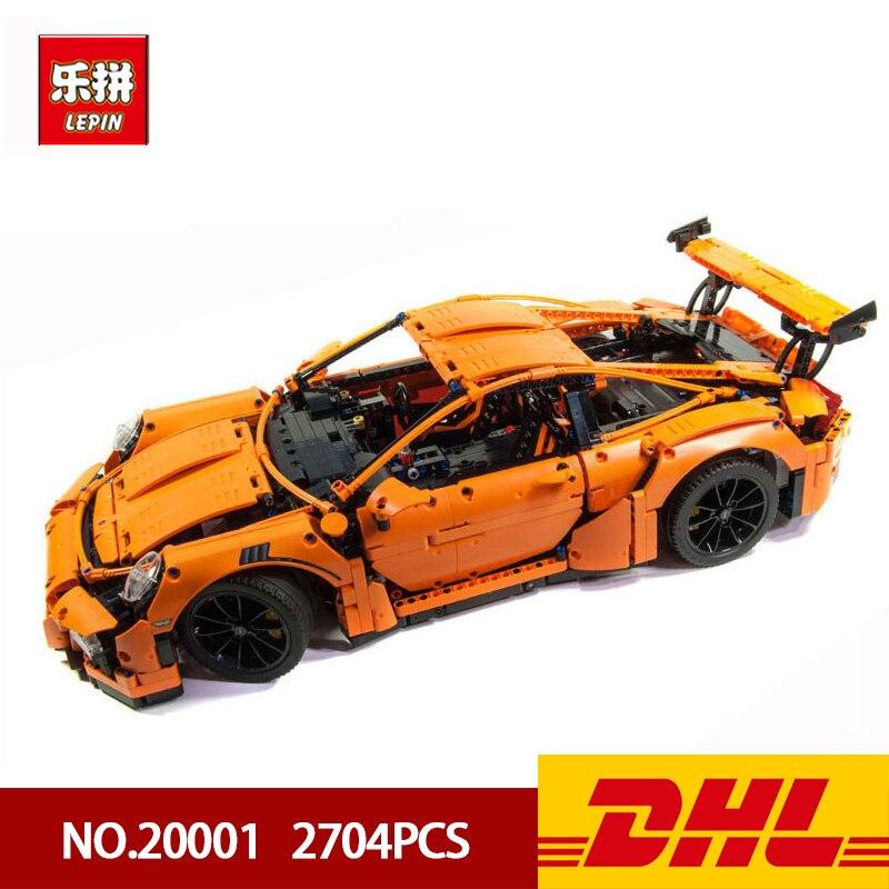 DHL Lepin Blocchi di Costruzione 200001 20001B Technic Serie di Auto Da Corsa F1 Formula Auto Corredi di Costruzione di Mattoni Giocattoli Educativi