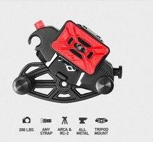 Genunie NOUVELLE Conception de Pointe Capture Caméra Clip avec PRO Plaque Pro-Qualité Caméra Solution de Transport Pour Canon Nikon Sonys DSLR