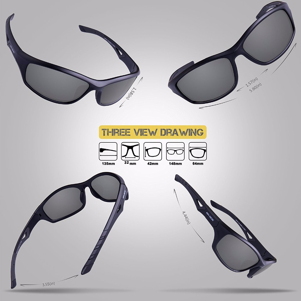 8b132bd9f4 RIVBOS Polarized Sports Sunglasses Men Women Bike Running Fishing Cycling  Glasses Eyewear Bicycle gafas oculos ciclismo RB0842-in Cycling Eyewear  from ...