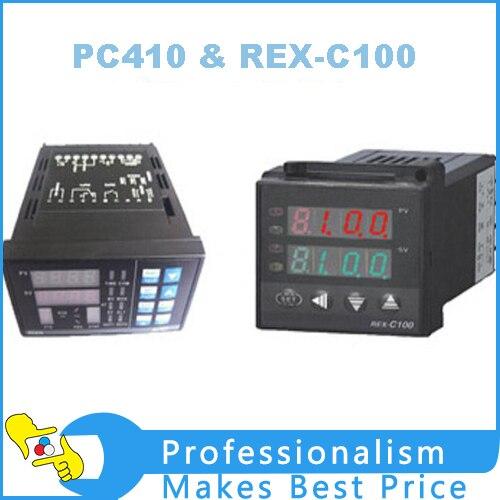 ∞PC410 mit RS232 Kommunikation Modul & REX-C100 Tempereature ...