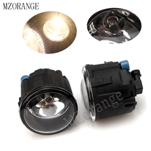 MZORANGE Fog Lamps Fog Light For Nissan Tiida Note Juke Patrol Murano Cube X-Trail Presage Rogue Versa  Halogen Lights 2pcs beler 2pcs right left fog light lamp with h11 halogen 55w bulb assembly for nissan cube juke murano infiniti ex35 ex37 qx50