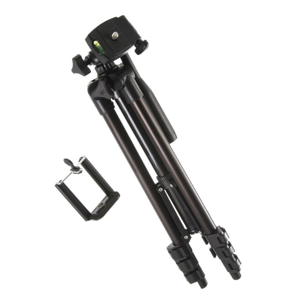Pieds portables professionnels trépied Flexible en Aluminium pour Canon Nikon appareil photo Sony Pantex caméscope DV DSLR