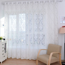 ship from us european style tulle door window curtain drape panel sheer scarf valances curtains new - Styles Of Valances