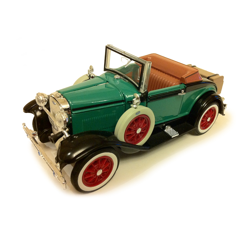 1 32 1929 A retro vintage car model Classic car collection model