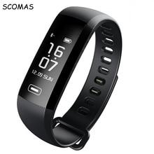 SCOMAS М2 Pro Смарт Браслет Фитнес Браслет Heart Rate Monitor Watch Интеллектуальный Погоды Деятельность трекер Умный браслет часы