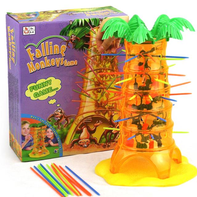 Divertido tougou macaco dos desenhos animados jogo área de trabalho interativa pais das crianças jogo toys