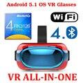 Android 5.1 3D Виртуальной Реальности Очки Поддержка 3D Кино/Игры/Видео Все В Одном 3D VR 2.0 II обновление google картон