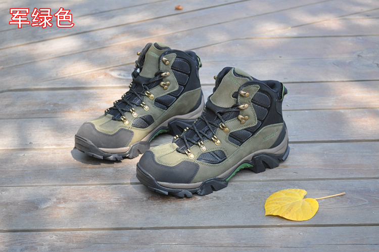 5e537609462 Wildcraft winter first layer of cowhide waterproof slip resistant  thickening thermal high hiking shoes male on Aliexpress.com