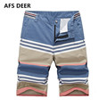 2017  Casual Men Shorts Beach Board Shorts Men's Carlyle Striped Shorts Summer Style cotton Brand Clothing Boardshorts Bermuda