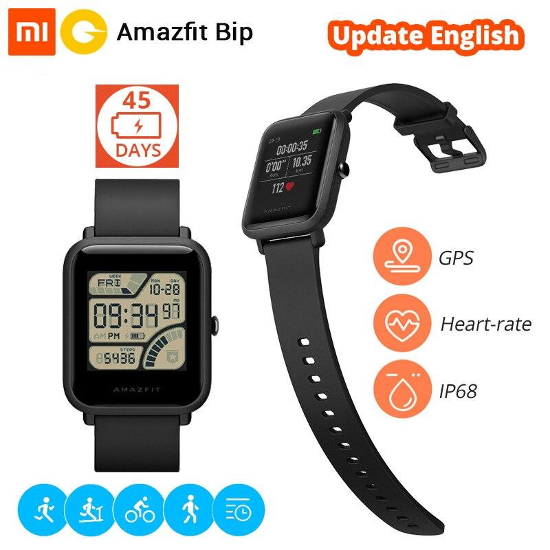 Xiaomi Huami Montre Smart Watch Amazfit Bip Bluetooth Smartwatch Montre de Sport Rythme Lite GPS Fréquence Cardiaque 45 Jours Batterie IP68 Étanche