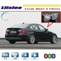 Liislee For BMW 3 M3 E46 E90 E91 E92 E93 1998~2011 Car Camera rearview Rear View Back Up Camera For PAL NTSC RCA Connector