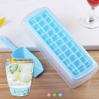 33 Grid Ice Cube Mold Set Lattice Ice Maker Box Ice Making Mold Ice Shovel Square