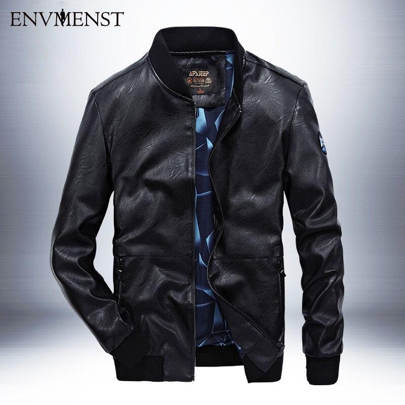 Mâle white M Poches Noir Automne Cuir Mode Printemps D'impression Afs Grande Pu Hommes Veste De En 4xl bleu Col 2017 Support La Taille 4qBx6St