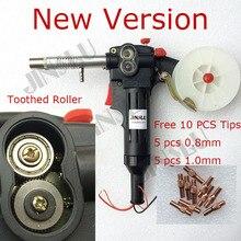 Nieuwe Nylon Body Getande Roller Gratis Onderdelen Mig Spool Gun Push Pull Feeder Aluminium Staal Lastoorts Zonder Kabel