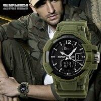 SKMEI Men Sports Watches Fashion Casual Watch Outdoor LED Digital Quartz Multifunction Waterproof Men S Military