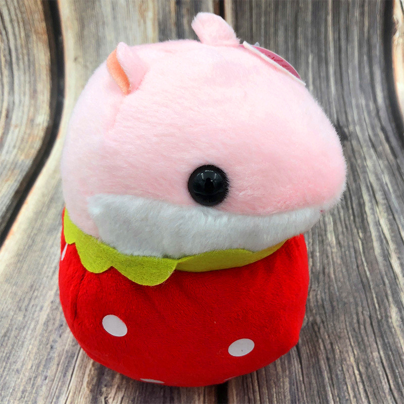 Teeny Hamster Mouse Pet Plush Stuffed Doll Toy Animal Soft Baby Doll Lovely Hamster PlushToys For Kid Stuff Child Gift Friends