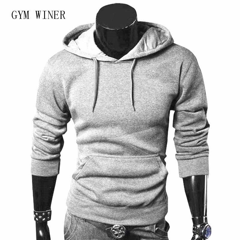 Fashion Autumn Winter Men Hoodie Sweatshirt Long Sleeve Tops  Sweatshirts Pullover Sweatshirt Male Coats Outerwear Shirt