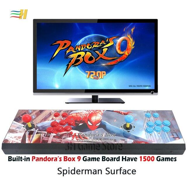 New Pandora Box 9 1500 in 1 Arcade Surface - HDMI / VGA / USB 5