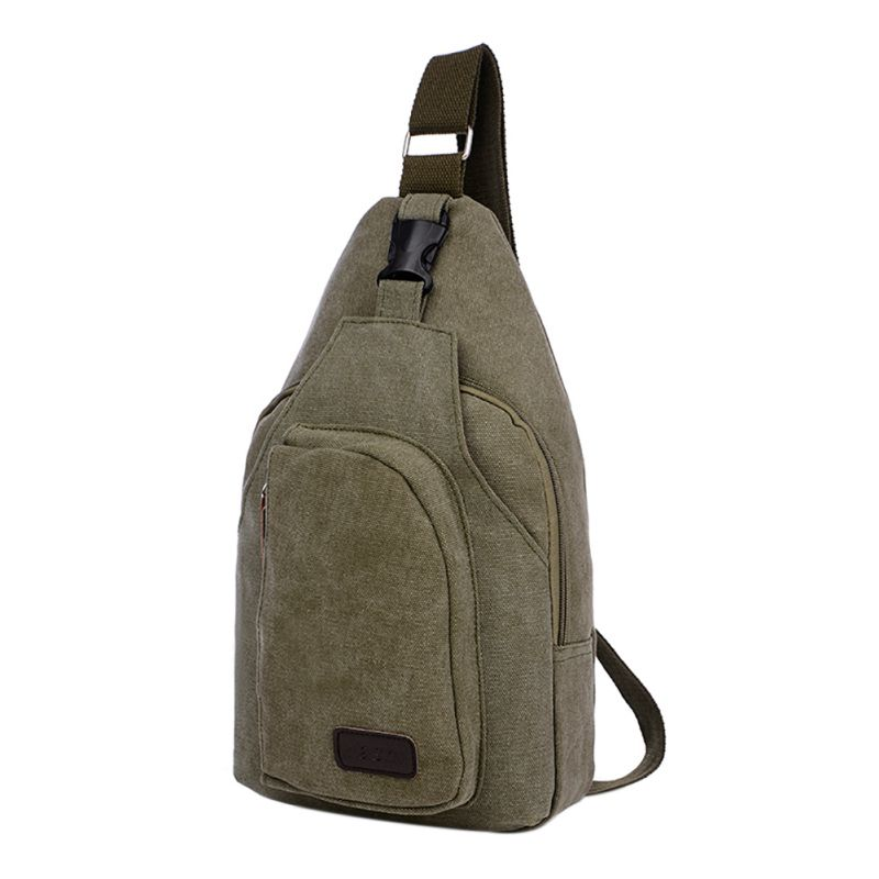 Sport Canvas Shoulder Bag Men Messenger Bags Outdoor Travel Camping Hiking Military Bag