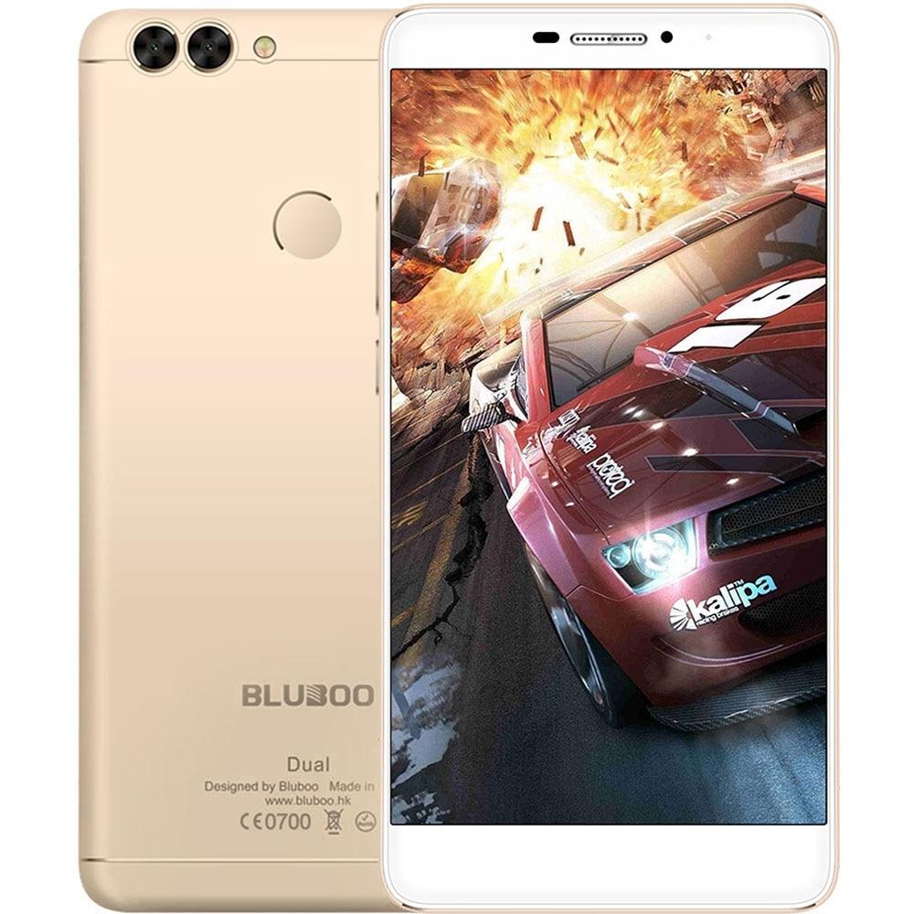 bilder für Dual Rückseite Kameras BLUBOO Dual Android 6.0 Smartphone 5,5 Zoll 4G MTK6737 Quad Core Handy 1,5 GHz 2 GB + 16 GB 13.0MP Handy