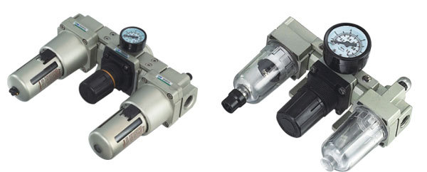 MADE IN CHINA pneumatic frl Air combination AC3000-03 цена