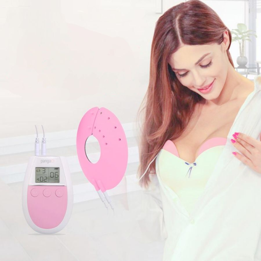 Bra beauty treasure electric breast enhancement breast care Breast enhancer/Pulse massager Breast enlargement growth machine ems frequency breast electrode enlargement enhancement growth breast stimulator massager care beauty machine female product