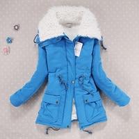Women jacket korean loose large lapel cotton jackets women parka winter jacket 2018 new arrival female coat winter women coat