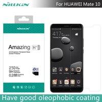Para Huawei Companheiro 10 NILLKIN Surpreendente H + PRO 2.5D 0.2mm Anti-Explosão de Vidro Temperado Protetor de Tela Para companheiro 10 5.9 polegada