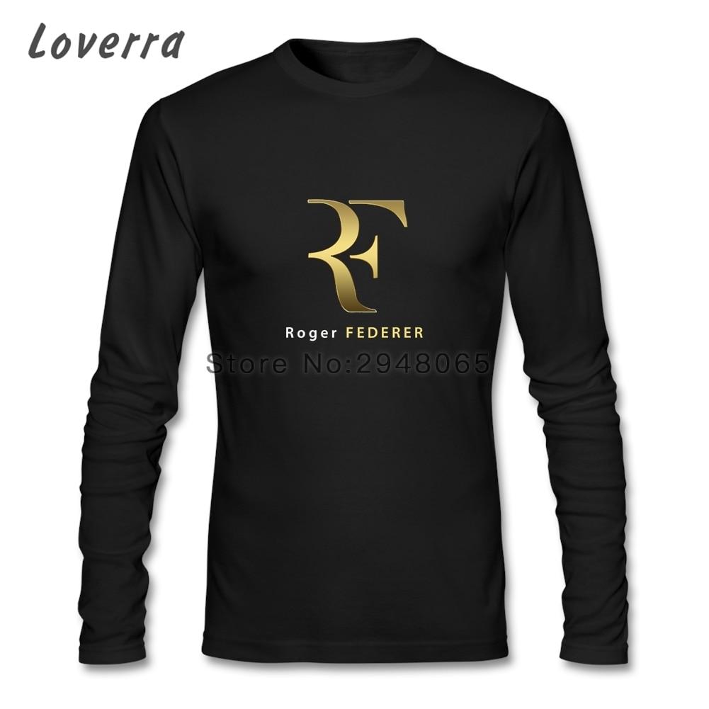 roger federer t shirt homme crossfit brand clothing o neck cotton jersey long sleeve men tee. Black Bedroom Furniture Sets. Home Design Ideas