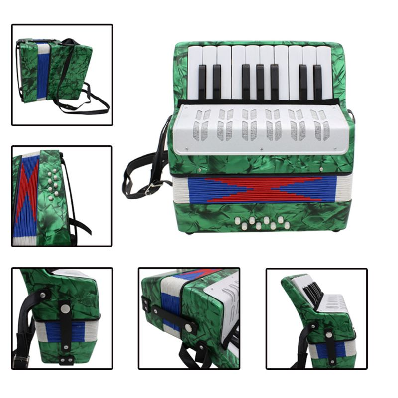 IRIN 17 Key Professional Mini Accordion Educational Musical Instrument for Kids AdultIRIN 17 Key Professional Mini Accordion Educational Musical Instrument for Kids Adult
