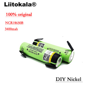 Image 4 - New Original NCR18650B 3.7 v 3400mah 18650 Lithium Rechargeable Battery Welding Nickel Sheet batteries