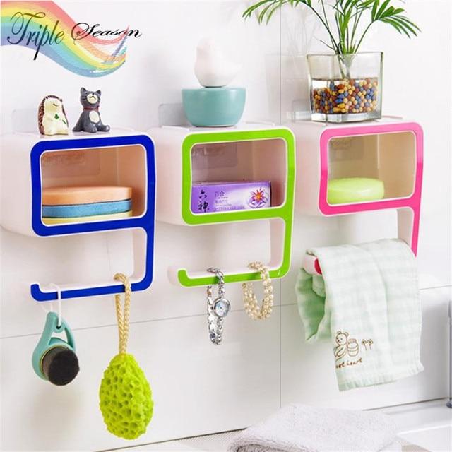 Sale 1 Piece Plastic Soap Dish Plastic Bathroom Accessories Sets