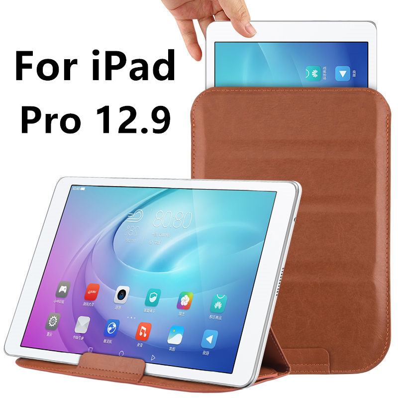 Case Sleeve For iPad Pro 12.9 inch Protective Smart cover Protector Leather For Apple iPad Pro12.9 PU 12.9 inch Tablet Covers for apple ipad air 2 pu leather case luxury silk pattern stand smart cover