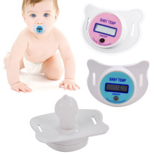 New home baby pacifier mouth thermometer baby liquid crystal display pacifier thermometer