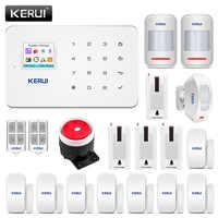 Kerui G18 système d'alarme de sécurité à domicile 80dB Alarme Maison Sans Fil Francais GSM Alarme antivol costume APP contrôle Alarme résidentiel