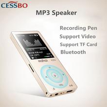 8G Hifi MP3 odtwarzacz ekran dotykowy bezprzewodowy Bluetooth MP3 odtwarzacz pomocy i współpracy administracyjnej WAV FLAC OGG MP3 APE dekoder wideo zapis karty TF MP3 głośnik tanie tanio MP3 WAV 20 godzin HD Wideo MP3 M350 Dyktafon E-czytanie książki Wbudowany głośnik Radio FM 1 8 cali 117dB Zasilanie zewnętrzne